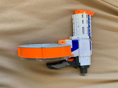 Gunkeyword Tommy Gun Extended Mag Nerf.