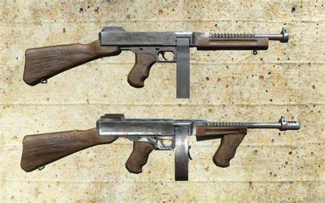 Gunkeyword Tommy Gun Fallout 3.