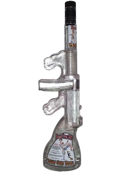 Gunkeyword Tommy Gun Liquor Bottle.