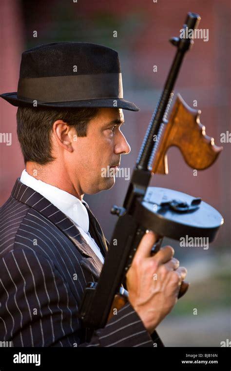 Tommy-Gun Tommy Gun Person.