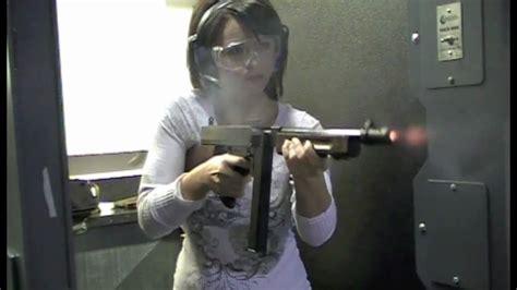 Tommy-Gun Tommy Gun Shooting.