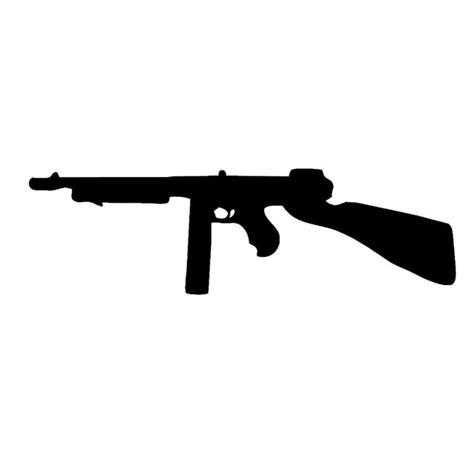 Tommy-Gun Tommy Gun Siloette