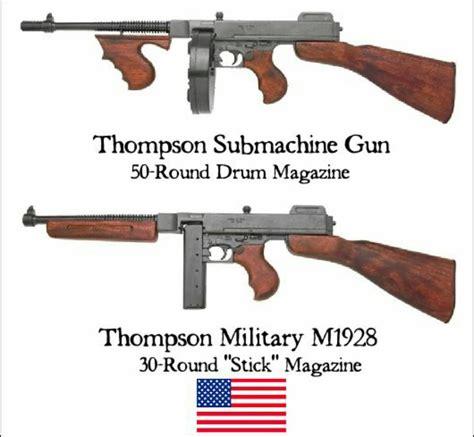Tommy-Gun Tommy Gun Vs Thompson.