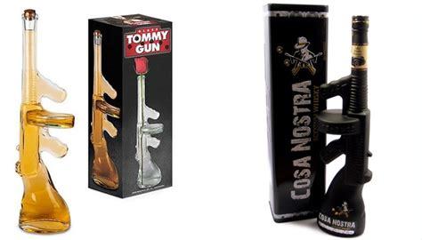 Tommy-Gun Tommy Gun Whiskey Bottle.