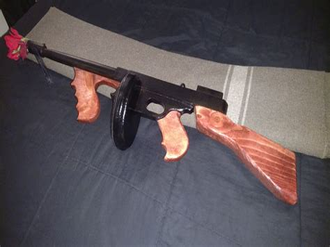 Tommy-Gun Tommy Gun Wood.
