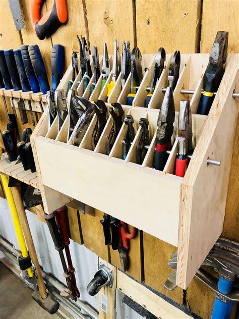 Tool Storage Garage Diy