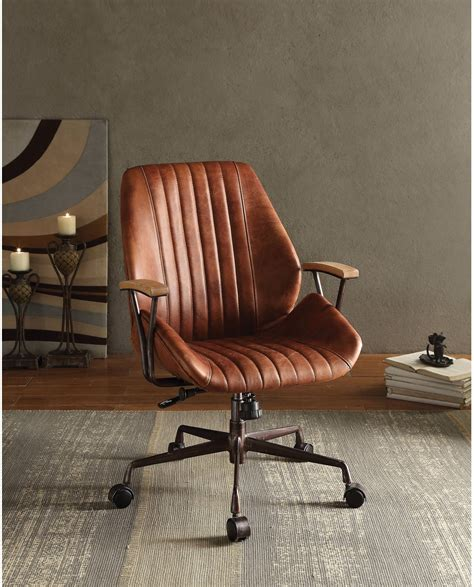 Top Grain Leather Executive Chair  Ebay.