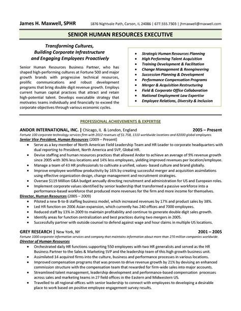 Top Hr Resume Format Resume Sample For Hr Manager Distinctive Documents
