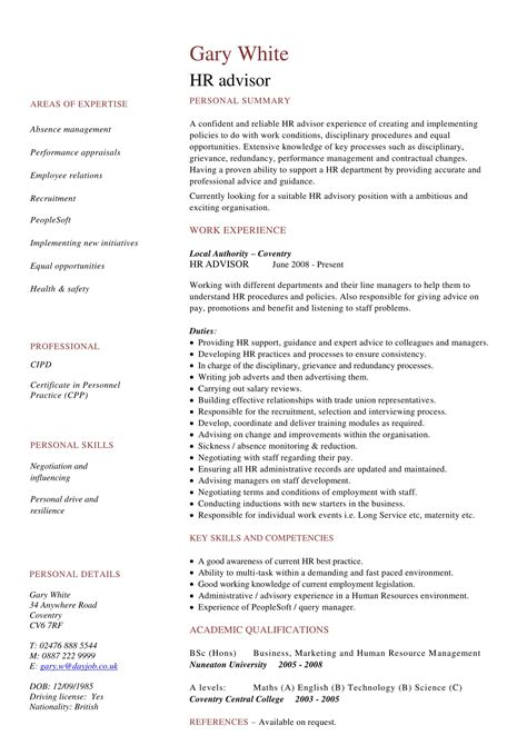 Top Hr Resume Format Your Hr Resume Success In Hr Daily