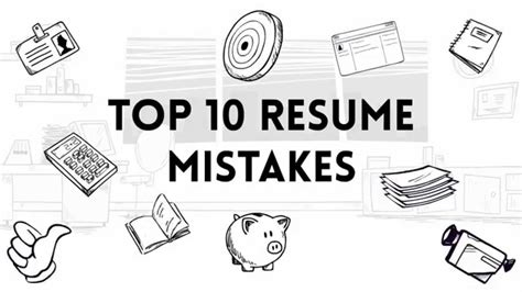 Top Resume Styles 2014 9 Rsum Mistakes You Cant Afford To Make Forbes