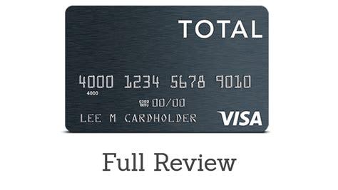 Credit Card Access Visa Total Visar Unsecured Credit Card