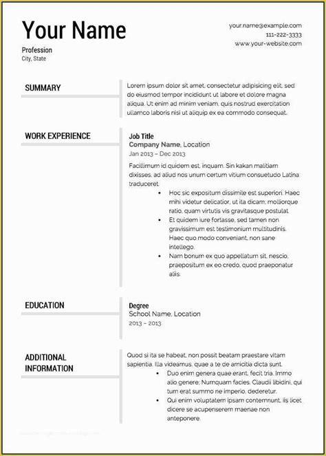 totally free resume templates resumetemplates free resume templates - Totally Free Resume Template