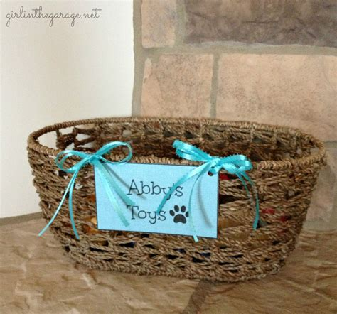 toy baskets for dogs