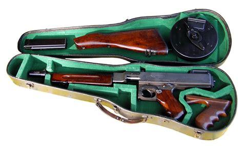 Tommy-Gun Toy Tommy Gun In Violin Case.