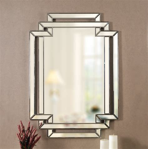 Traditional Beveled Accent Mirror