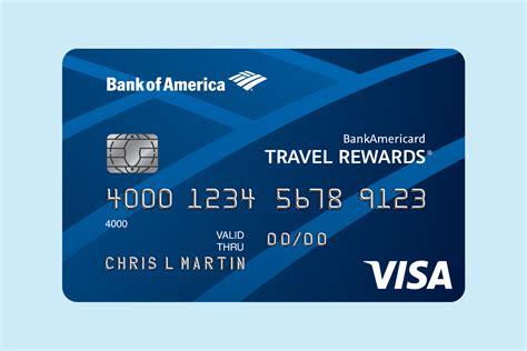 Travel Rewards Credit Cards Youtube Bankamericard Travel Rewardsr Credit Card Bank Of America