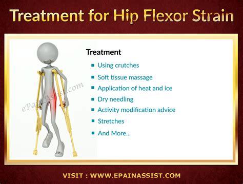 treatment of hip flexor tear symptoms