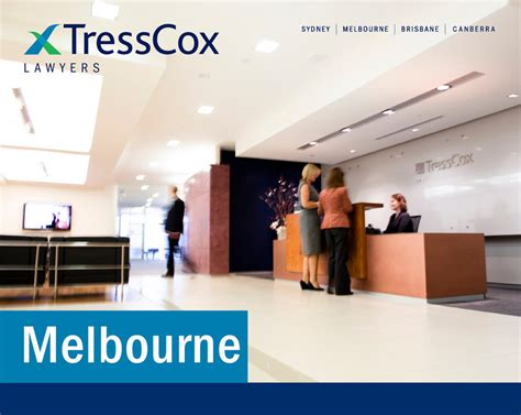 Commercial Lawyer Part Time Sydney Tresscox Lawyers Sydney Melbourne Brisbane Canberra
