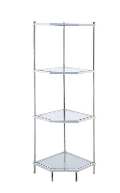 Tressie 3 Tier Corner Unit Bookcase