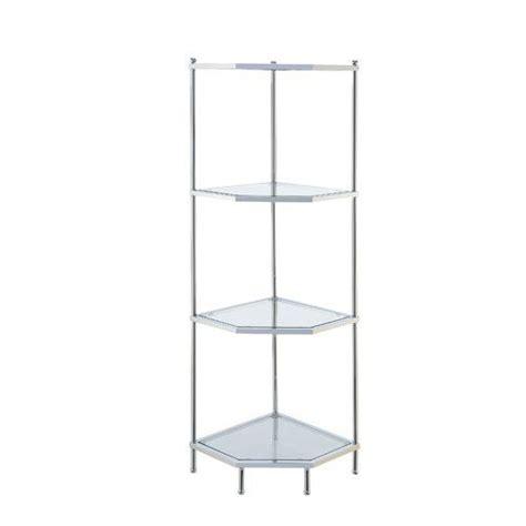 Tressie 4 Tier Corner Unit Bookcase