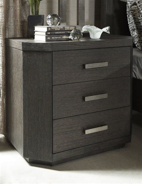 Tribeca Studio 3 Drawer Nightstand