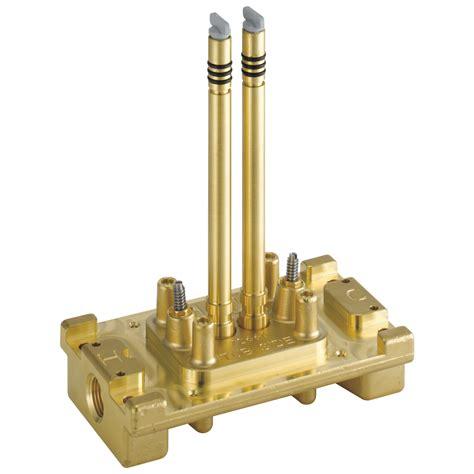 Trinsic® Bathroom Floor Mount Tub Rough-In Valve Filler