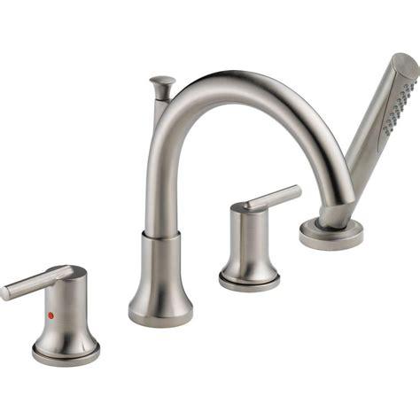 Trinsic® Double Handle Roman Tub Faucet Trim