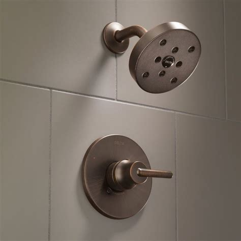 Trinsic® Thermostatic Shower Faucet with Trim and H2okinetic Technology