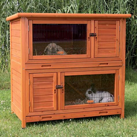 trixie 2 story rabbit hutch