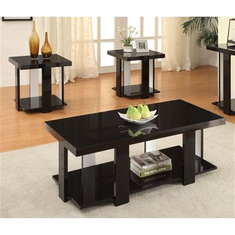 Trong 3 Piece Coffee Table Set