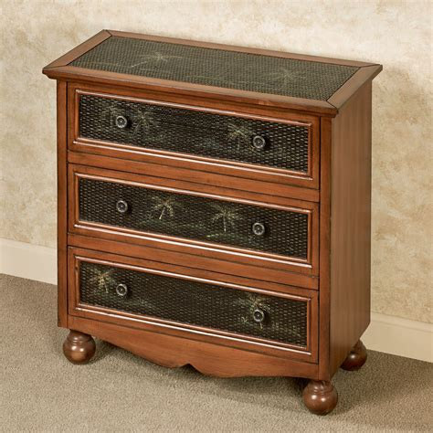 Tropical 3 Drawer Chest