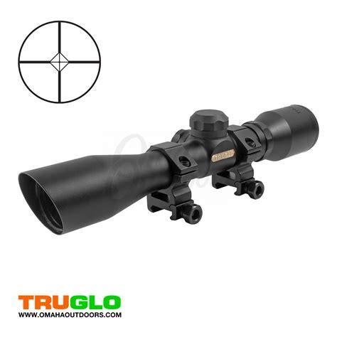 Rifle-Scopes Truglo 4x32 Compact Shotgun & Rifle Scope.