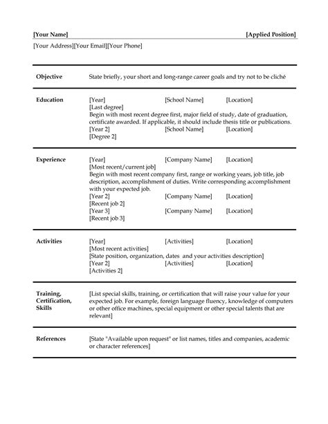 free simple resume builder resume format 2017 16 free to download word templates simple resume builder - Truly Free Resume Builder