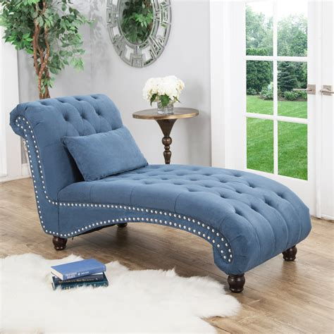 Tufted Chaise Lounge  Ebay.