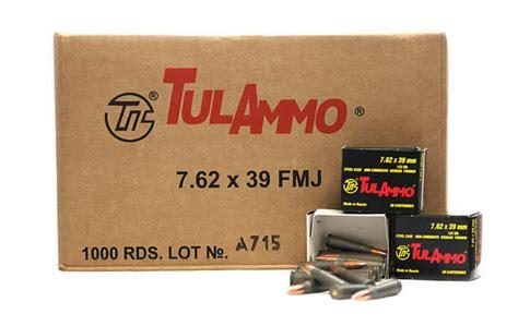 Ammunition Tula 7.62x39mm 122gr Hp Steel Cased Ammunition Review.