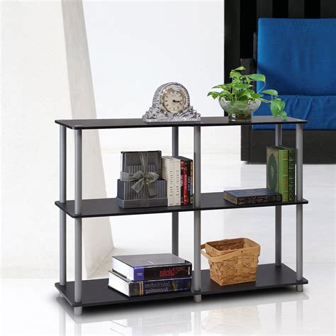 Turn-N-Tube 3-Tier Double Size Storage Display 30 H Shelving Unit