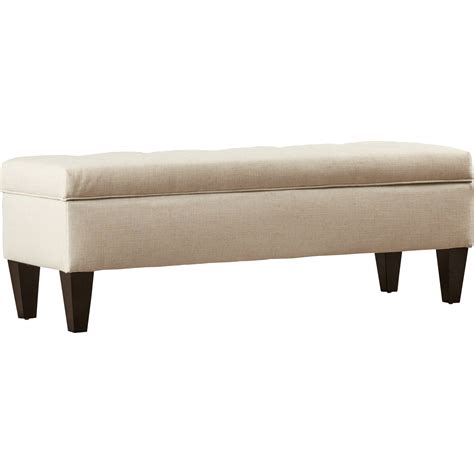 Tusarora Fabric Storage Bench