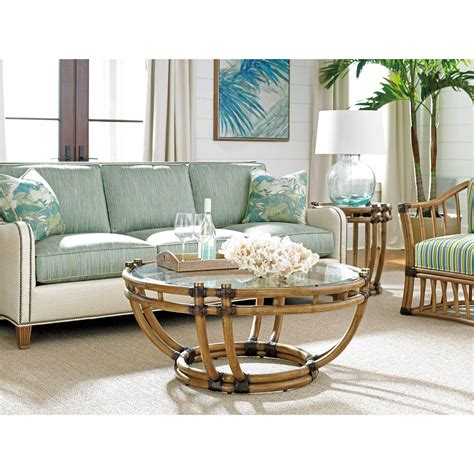 Twin Palms Coffee Table Set