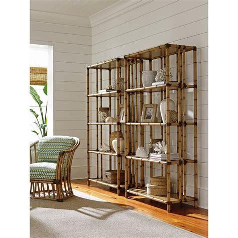 Twin Palms Seven Seas Etagere Bookcase
