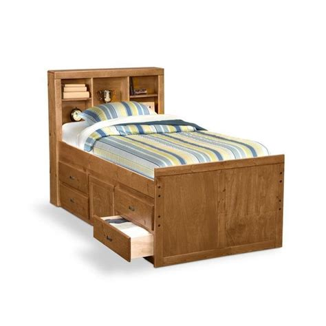 Twin Bed With Drawers Plans