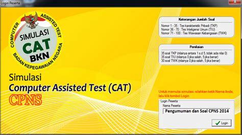 Soal Cpns 2017 Twk Twk Simulasi Cat Cpns Online 2017