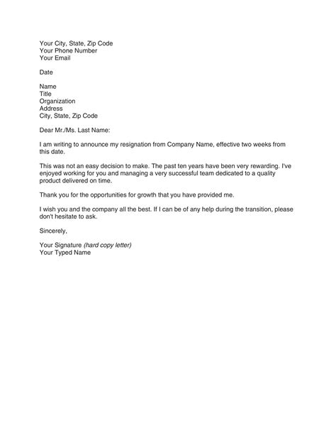 Resignation Letter Format No Notice Period | Cover Letter ...
