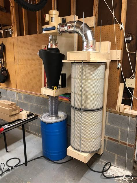 Two Stage Dust Collection System