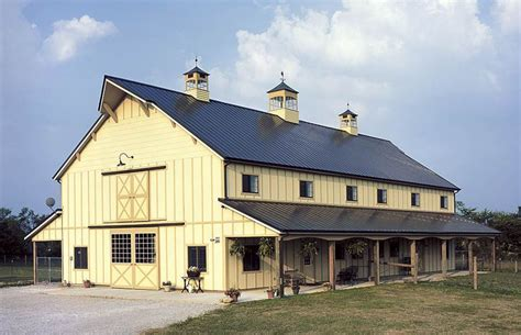 Two Story Pole Barn Plans