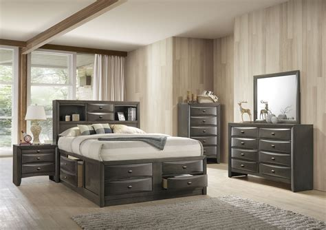Ultimate Dresser Storage Bed Set Design