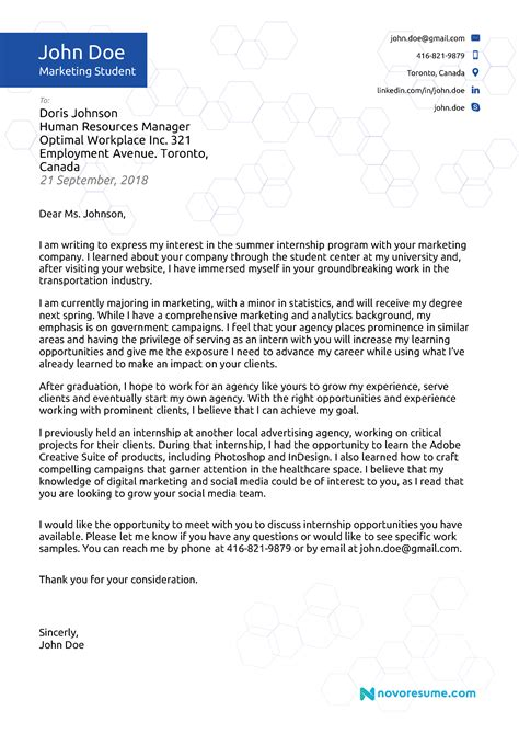 undergraduate cover letter examples writing an effective scholarship cover letter examples - Scholarship Cover Letter Example