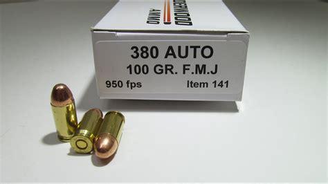 Ammunition Underwood Ammunition 380 643 Test.