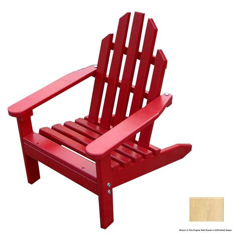 Unfinished Adirondack Chairs Lowes