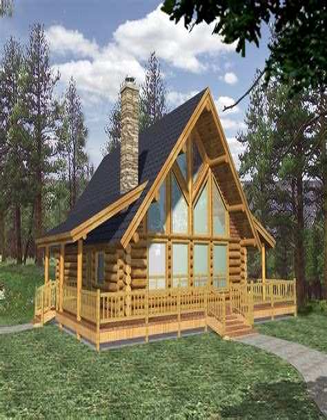 Unique Log Cabin Plans