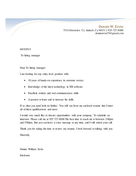 Cover Letter Examples Veterinarian Cv Education Coursework Cover